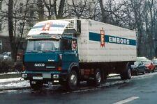 LKW Foto Magirus Iveco Turbo 1a Kühlsattelzug Hochtaunus 10x15cm/LF257