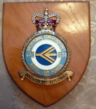 More details for vintage raf royal air force 232 conversion unit station crest shield plaque z