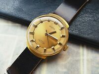 Vostok Wostok Vintage Gold Plated Soviet Wristwatch cal. 2409A , Leather strap