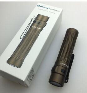 Olight Warrior Mini 1500 Lumen Rechargeable Flashlight Desert Tan