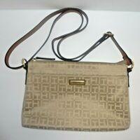 Tommy Hilfiger Khaki Cream Cross body purse