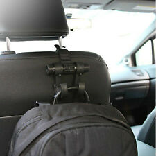 Auto KFZ Kleiderbügel Kleiderhalter Spitzhaken Kopfstuetze Haken schwarz