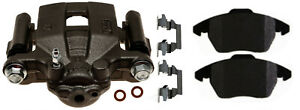 Disc Brake Caliper-Non-Coated Loaded with Ceramic Pads Rear Right 18R12559 Reman