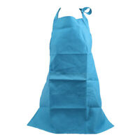 Waterproof Apron Household Restaurant Kitchen Chef Aprons with Pockets G