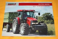 Case CS Pro Serie Traktor 2008 Prospekt Tractor Brochure Catalogue Folder