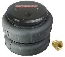 "1 standard 2500lb air bag suspension part single 3/8""npt port air spring"