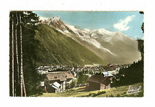 Chamonix (Haute-Savoie) - Mont-Blanc - Postmarked Paris - French Stamps