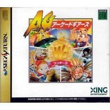 USED Wonder 3 Sega Saturn Japan Import