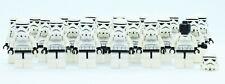 Lego Stormtrooper 10188 10212 Black Head Star Wars Minifigures Lot of 20