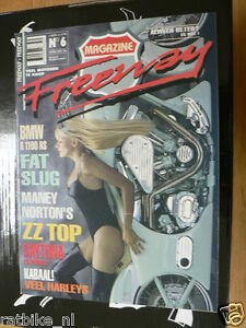 FREEWAY 06 BMW R1100RS,NORTON RACERS MANEY,ZZ TOP,DAYTONA,FAT SLUG HD,MANDERIN H