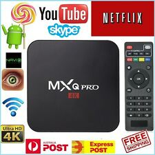 MXQ Pro 4K Android Smart TV BOX Android 6.0 Ultra HD Media Player + Remote 16.1