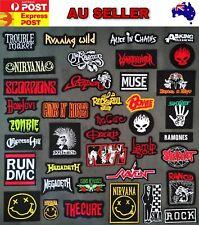 Rock Band Music Iron On Patches Rockband Patch Badge Punk Metal Motorhead
