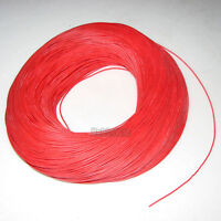 24AWG Red Soft Silicone Wire 10m Bending & Cold-freeze & High-temp Resistant