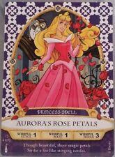 Disney SOTMK Sorcerers Of The Magic Kingdom Aurora's Rose Petals Princess #41/70