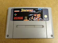 SUPER NINTENDO SNES GAME / STARWING
