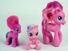 My Little Pony Pinkie Pie Mom 2009 & Baby Newborn Cutie 2008 Cheerilee 2010