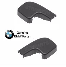 BMW E90 E91 Set Of 2 Left And Right Front Covers For Wiper Arm Nut 61617138990