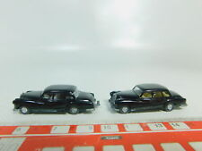 BO588-0, 5 #2x Wiking H0 / 1:87 Car Mercedes-Benz / MB with Trailer Coupling,