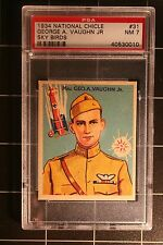 1934 National Chicle Sky Birds #31 George A. Vaughn, Jr.  - PSA-7