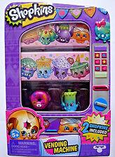 Moose,Shopkins Vending Machine,Storage Tin,W/ 2 Exclusive Shopkins,Kids 3+,New