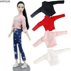 """High Neck Shirt for 11.5"""" Doll Base Shirts Clothes For Blythe Blouse Clothes 1/6"""