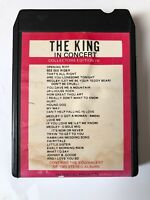 Elvis Presley - The King In Concert Twin Pack 8 Track Tape Tested D