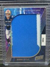 2020 Panini George Kittle Prime Player Worn Pro Bowl Patch #14/49 49ers Y726