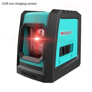 Mileseey Cross Line Laser Level DIY Laser Level Self Leveling Red Beam