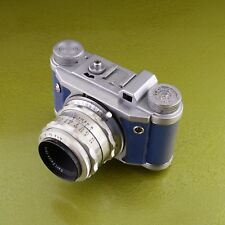 scarce ALTIX V 5 BLUE, Tessar 2.8 / 50 Q1 CARL ZEISS JENA, EHO Altissa 35 mm ☆☆☆