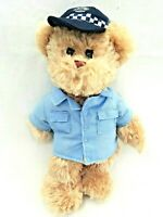 Elka Tic Toc Teddies Constable Carruthers WA Police Officer Soft Plush Bear Toy