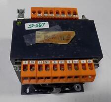TRANSFORMER TYPE 220-500V VDE 0550 CRACKED PLASTIC