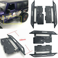 2pcs KYX Simulation Metal Side Pedal Step Plate for Axial SCX10 SCX10ll Wrangler