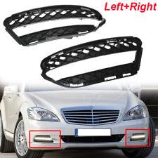 Fog Light Trims Set For 2007-2013 Mercedes Benz S550 2010-2013 S400 Left & Right