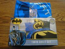 DC Comics Batman microfiber polyester twin sheet set NEW