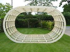 Glamping Pod Frame Kit (New Oval Design 4.0m W  x 3.0m L), Garden Room Frames