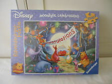 RAVENSBURGER PUZZLE - WINNIE DISNEY MOONLIGHT CELEBRATIONS - 1000 PIECE JIGSAW