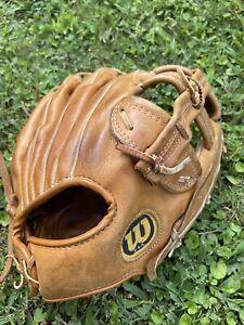 """Wilson A2014 Ballhawk Infielder Glove Baseball Mitt Made in USA 11.5"""" RHT EUC"""