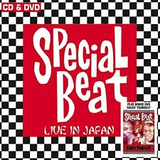 Special Beat Live In Japan CD+Enjoy Yourself DVD NEW SEALED Ska John Bradbury