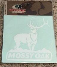 "Mossy Oak Elk Car decal. 9"" x 7"""