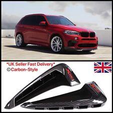 BMW F15 X5 F85 X5M SUV 2014+ - xDrive Carbon Fiber Side Fender Wing Vent