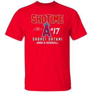 Shohei Ohtani MVP Los Angeles Angels Signature 2021 T-Shirt S-5XL
