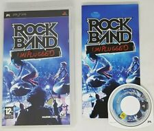Rock Band Unplugged PSP with Manual & Game (UK Version) VGC