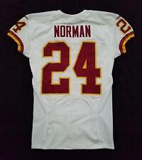 #24 Josh Norman of Washington Redskins Nike Game Issued Jersey