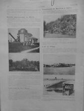 1913 I SOCIETE  ASTRONOMIQUE RHONE OBSERVATOIRE SAINT GENIS LAVAL