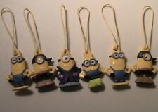 6 Minions General Mills Cereal Box Toys Figure Ornaments Cereal Box Toys Lot