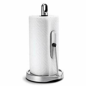 Simplehuman Stainless Steel Tension Arm Paper Towel Holder Solid Quality Grade