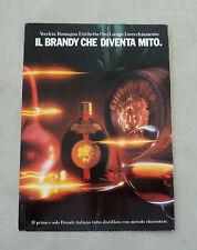 F015 - Advertising Pubblicità - 1984 - VECCHIA ROMAGNA ETICHETTA ORO