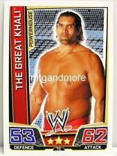 Slam attax superstars - #076 the Great Khali