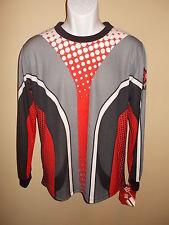NEW Authentic ESPN X Games Long Sleeve Shirt Skate Surf Biking Mens L Large