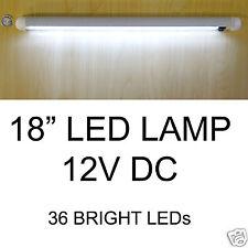 """12V LED LIGHT 18"""" 36 BRIGHT WHITE LED SWIVEL STRIP LAMP"""